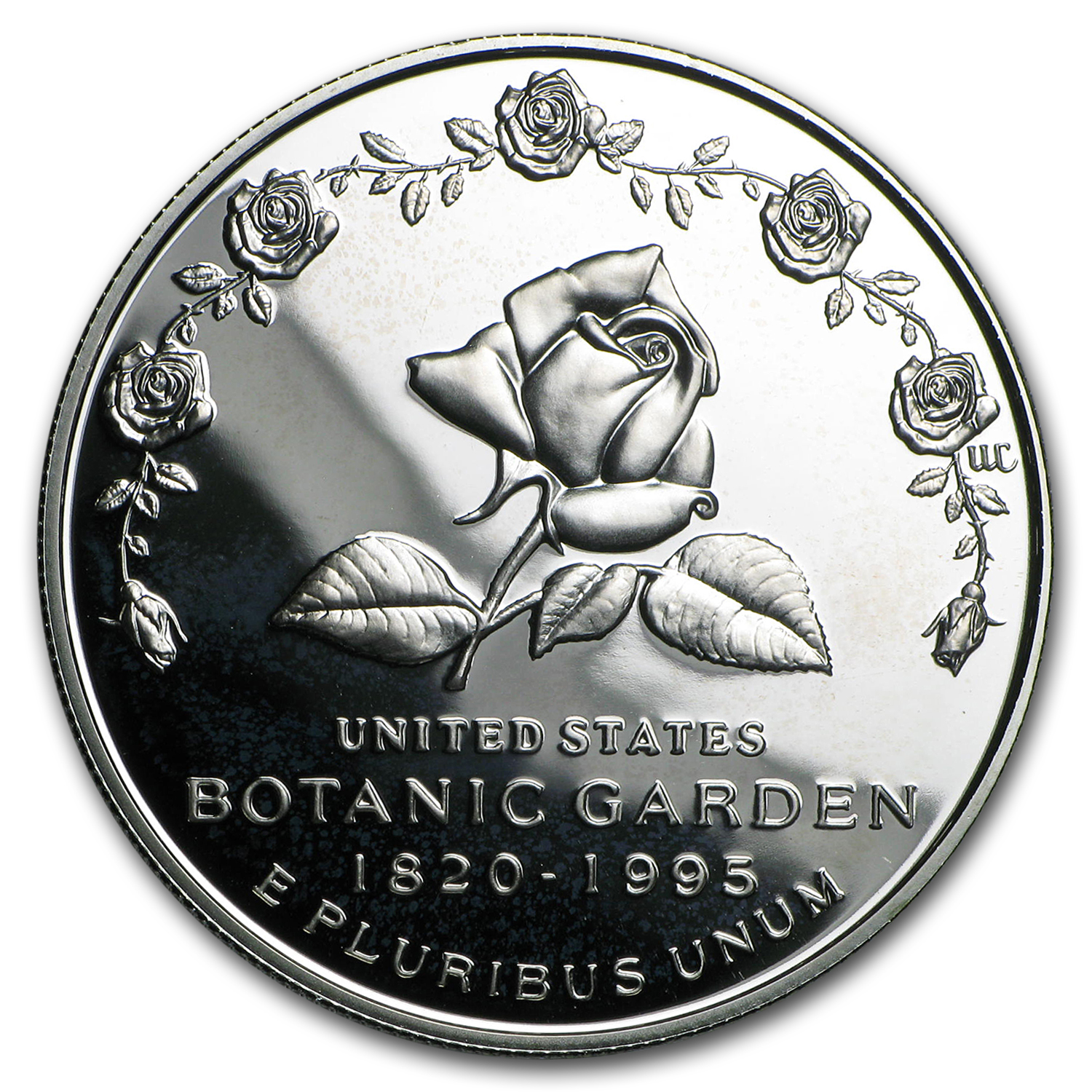 1997-P Botanical Garden $1 Silver Commem Proof (w/Box & COA)