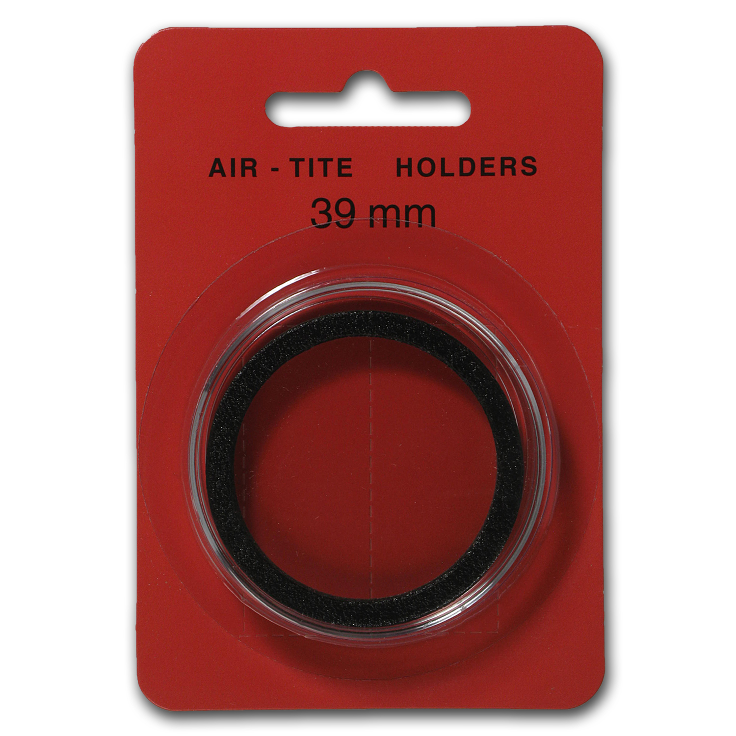 Air-Tite Holder w/ Black Gasket - 39 mm