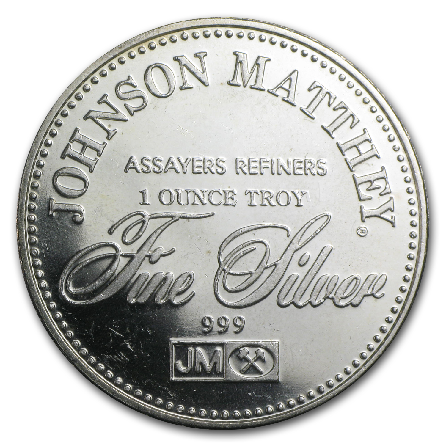 1 oz Silver Rounds - Johnson Matthey (Freedom of Assembly)
