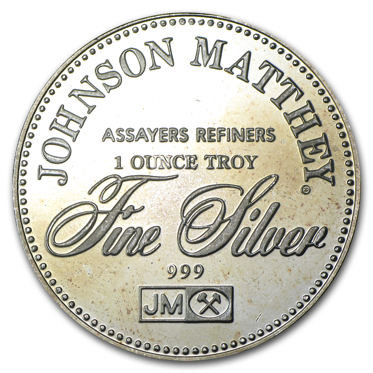 1 oz Silver Round - Johnson Matthey (Freedom of Religion)