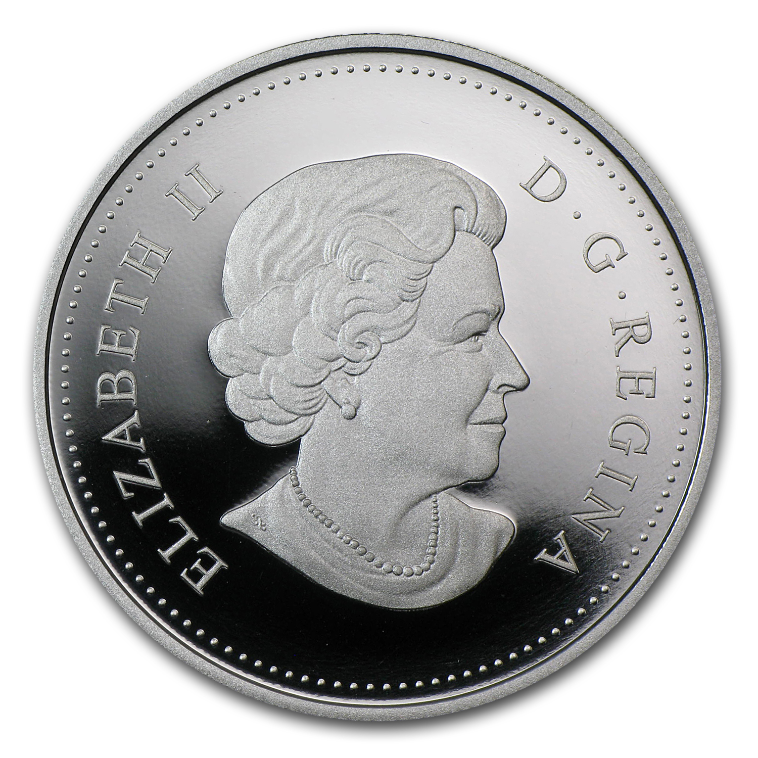 2012 Silver Canadian $1 - Calgary Stampede Bucking Bronco