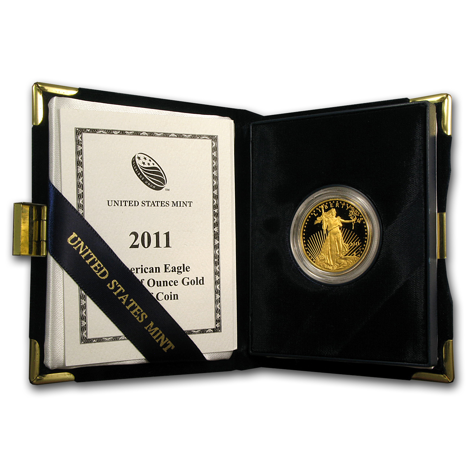 2011-W 1/2 oz Proof Gold American Eagle (w/Box & COA)