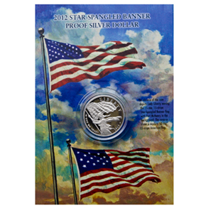2012 Star Spangled Banner Bicentennial $1 Silver Commem Set