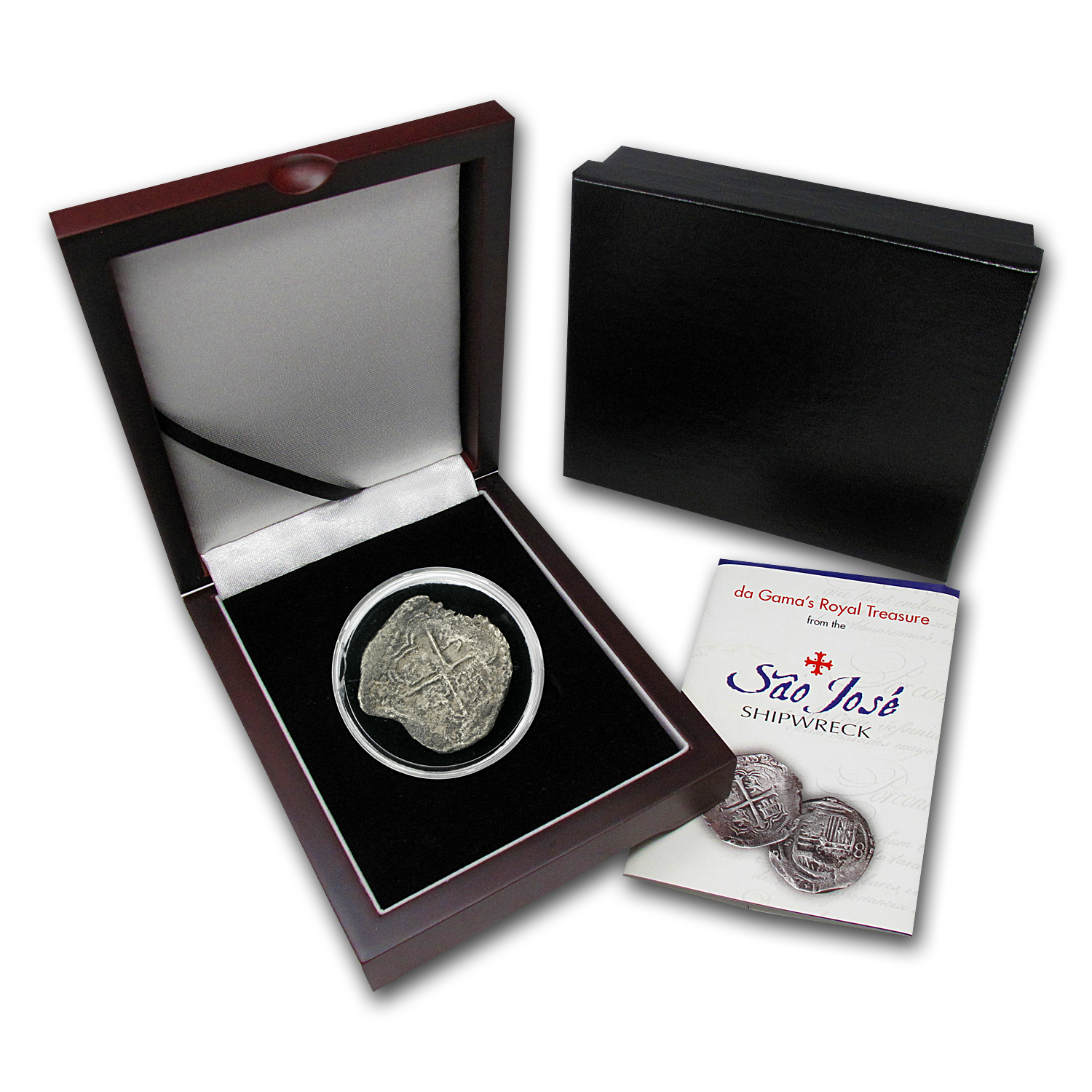 Sao Jose Shipwreck Silver 8 Reales Collection