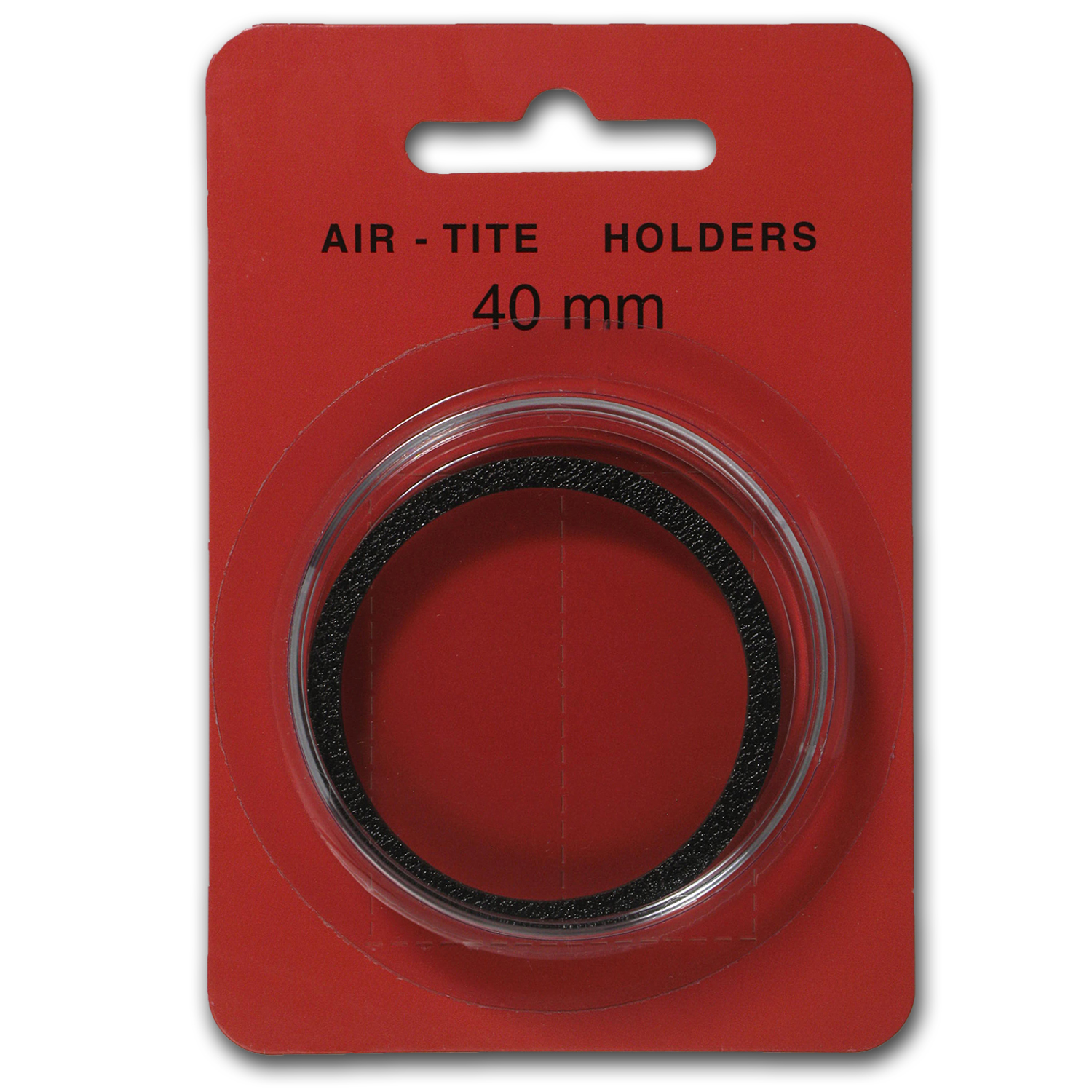 Air-Tite Holder w/Black Gasket - 40 mm