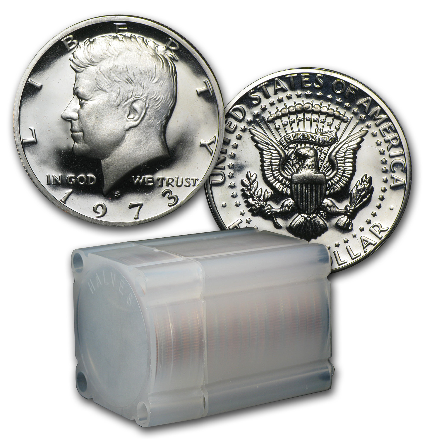 1971-Date Kennedy Half Dollar 20-Coin Roll Proof (Clad)