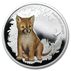 2011 Australia 5-coin 1/2 oz Silver Bush Babies Proof Set