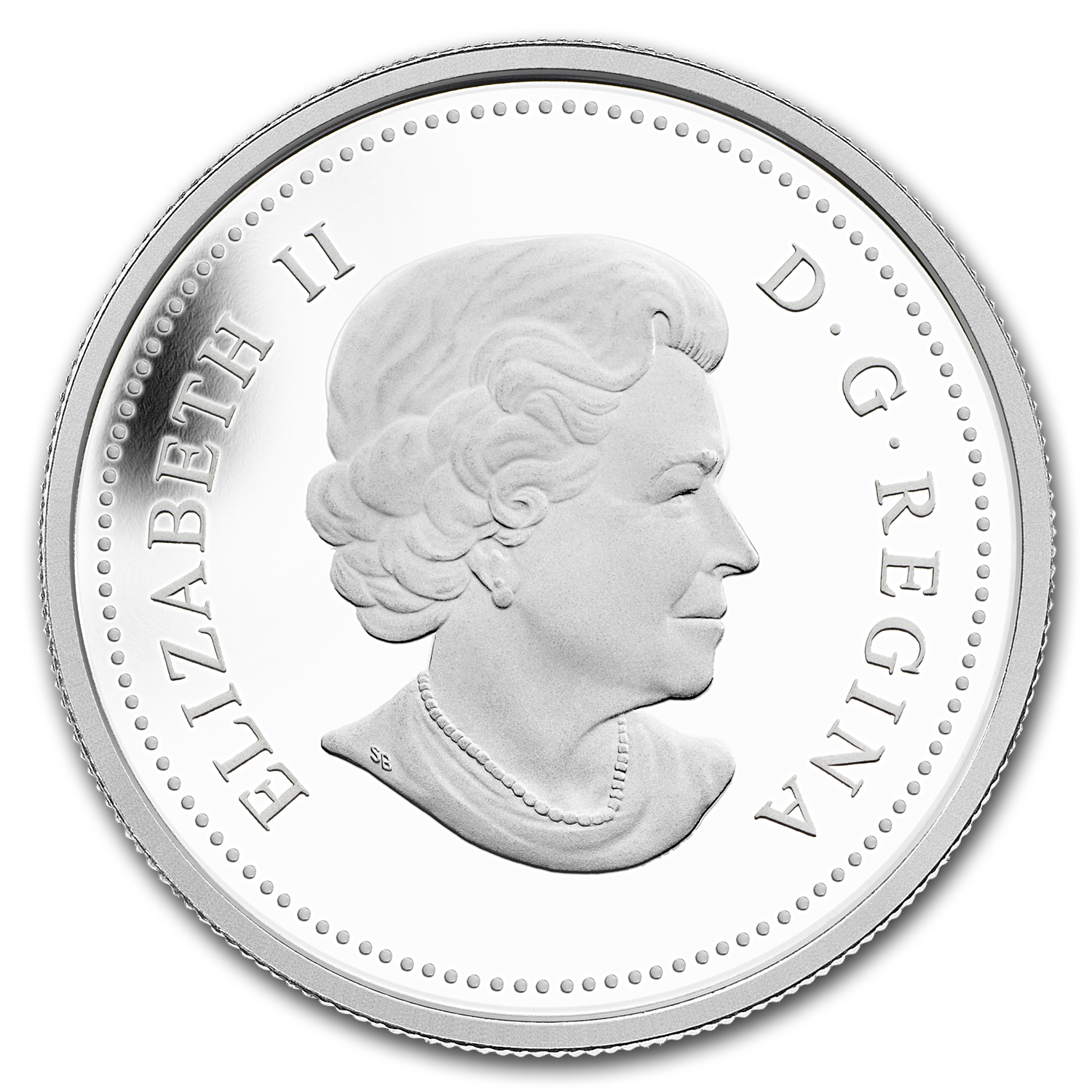 2012 1 oz Canadian $300 - Platinum Bateman's The Bull Moose