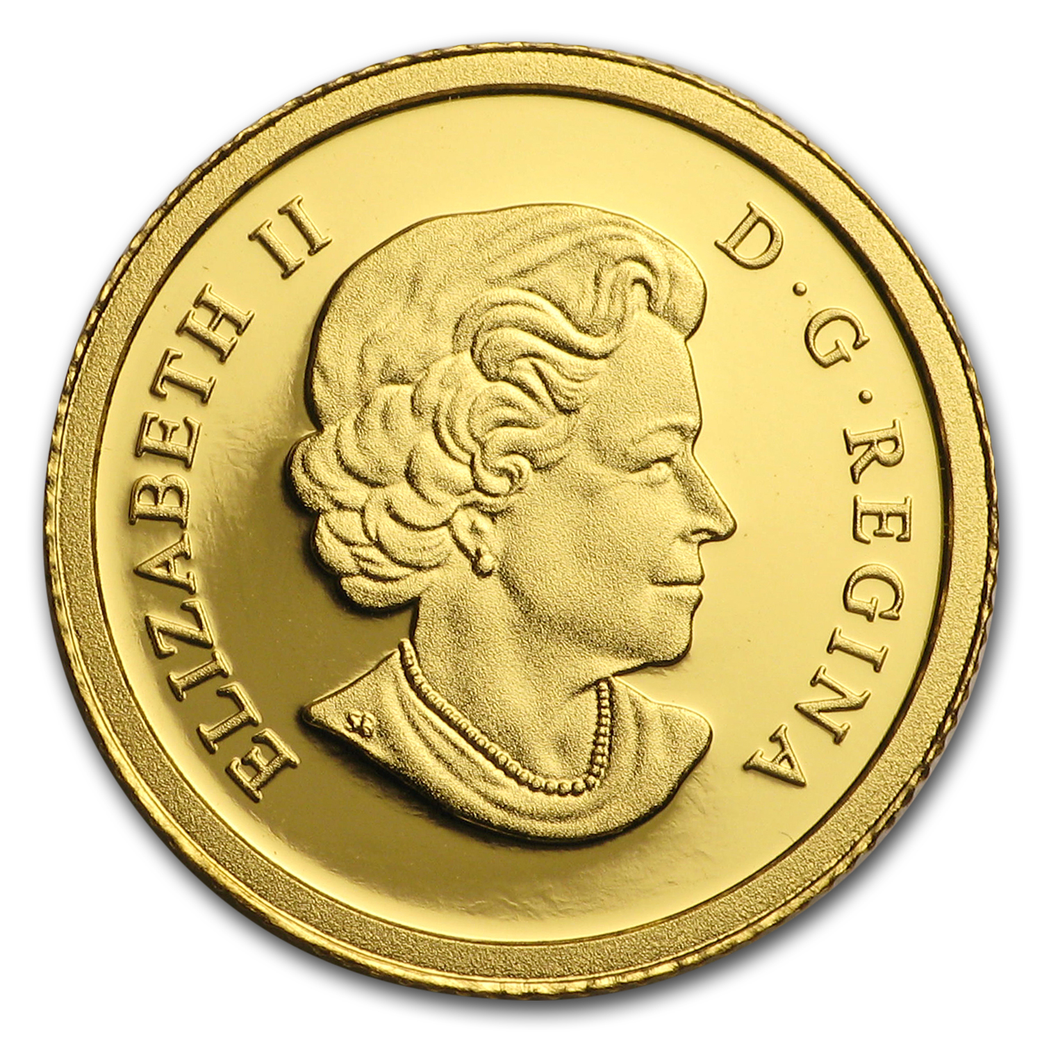 2012 Canada 1/25 oz Proof Gold $0.50 Cariboo Gold Rush