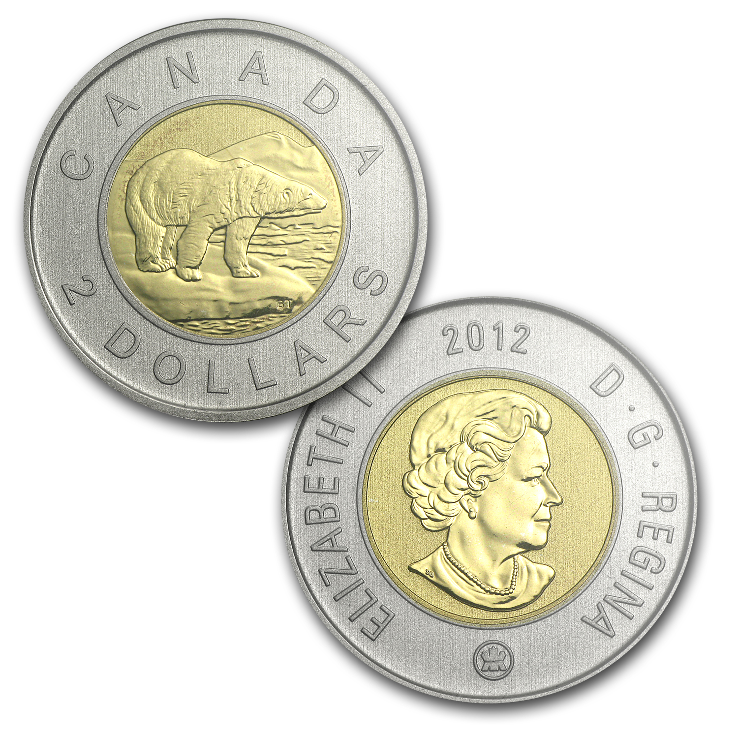 2012 RCM 7-Coin 25th Anniv Loonie Special Edition Specimen Set