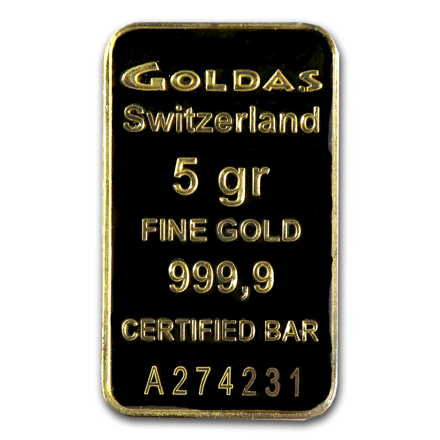 5 gram Gold Bars - Goldas (In Assay)