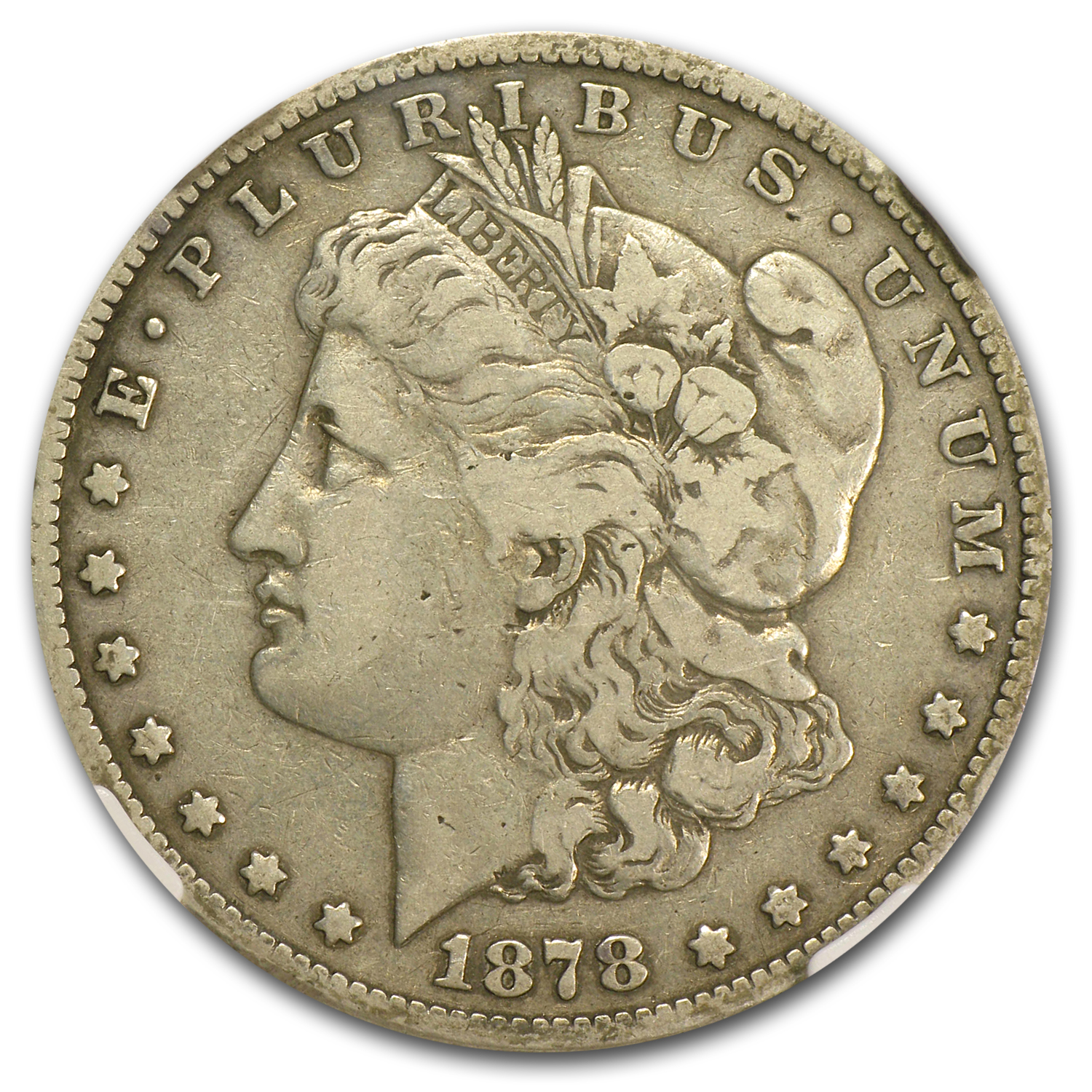 1878-S Morgan Dollar - Fine-15 NGC VAM-57 Long Nock Top-100
