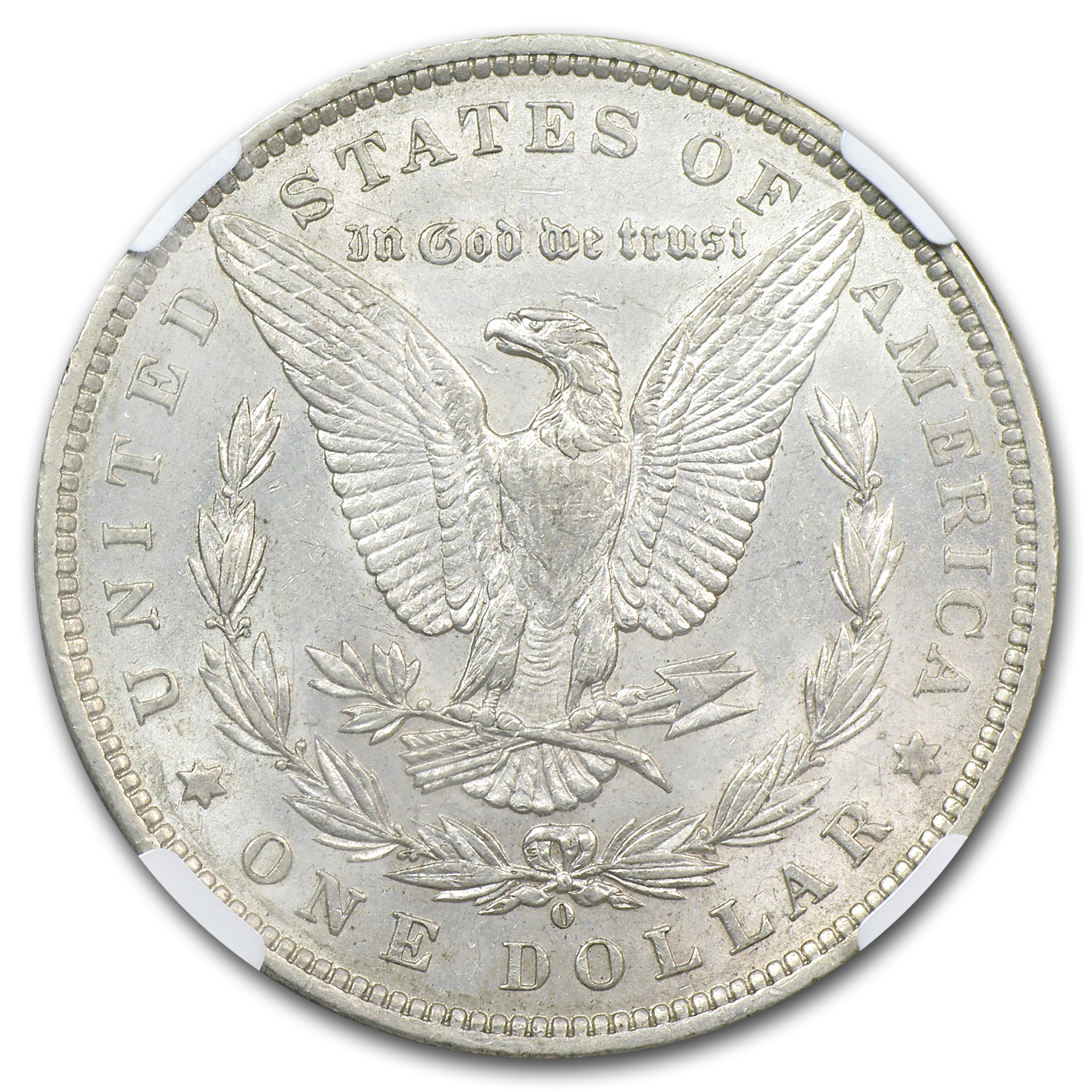 1888-O Morgan Dollar AU-53 NGC (VAM-24, Oval O, Top-100)