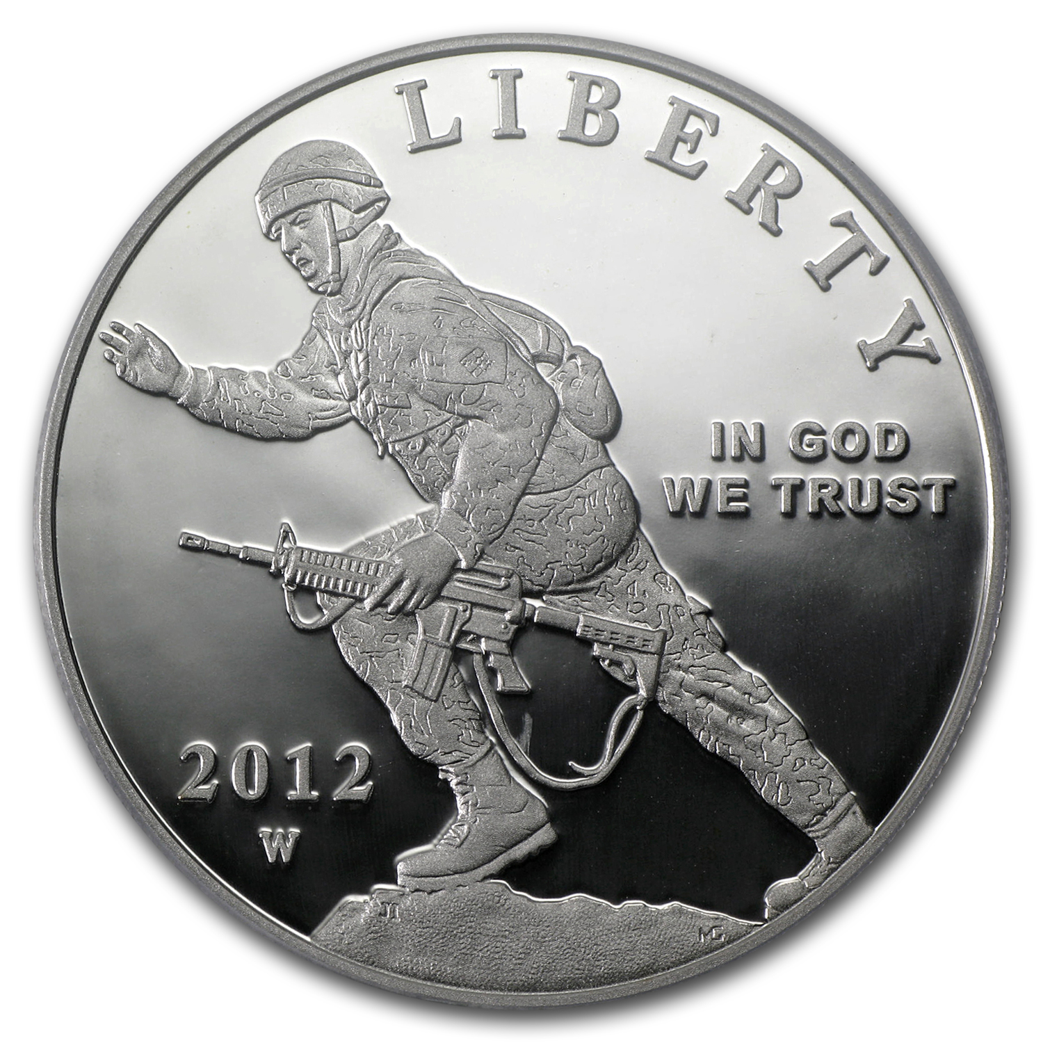 2012-W Infantry Soldier $1 Silver Commemorative PR-69 PCGS