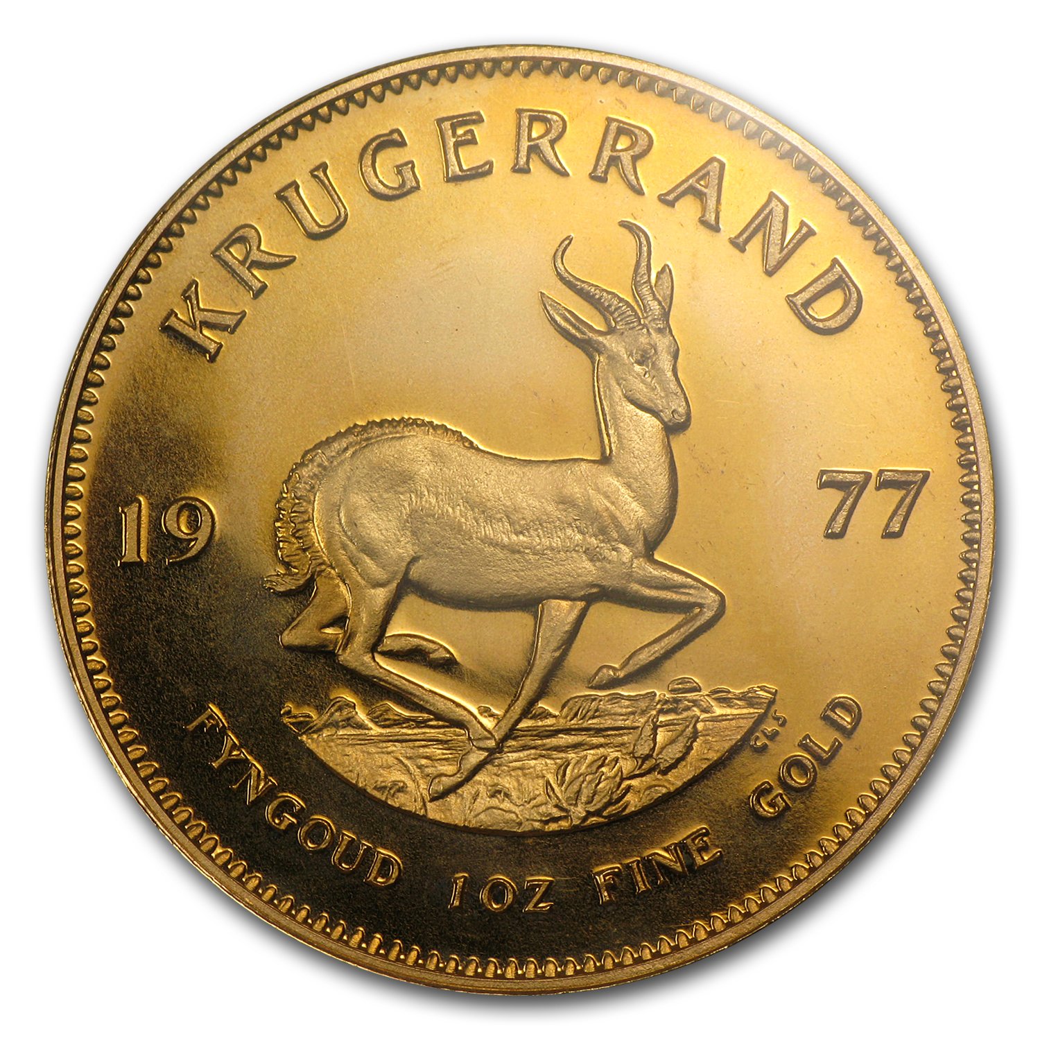 1977 South Africa 1 oz Gold Krugerrand PF-68 NGC