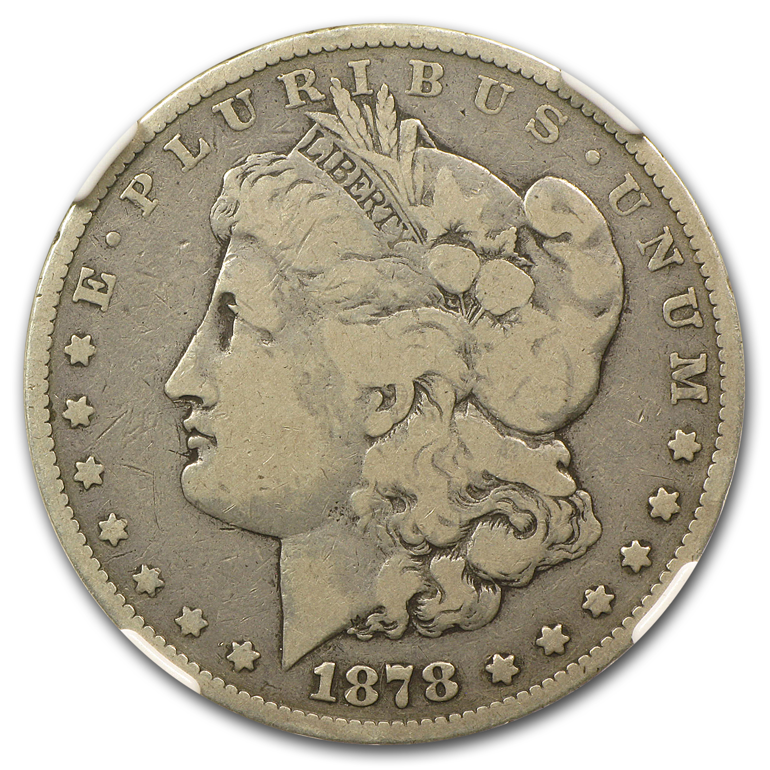 1878-S Morgan Dollar Good-4 NGC (VAM-62, Long Nock, Top-100)