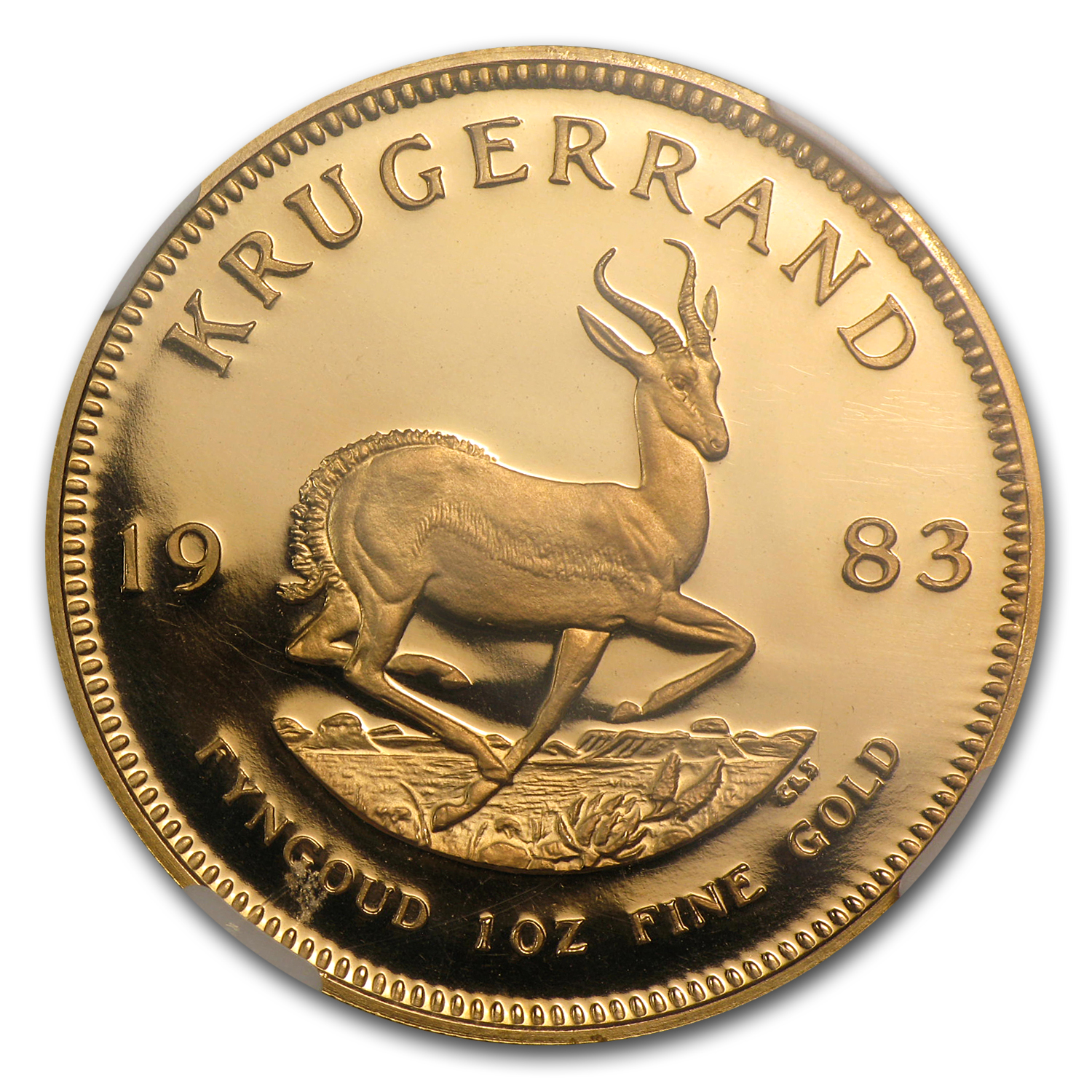 1983 1 oz Gold South African Krugerrand PF-68 NGC
