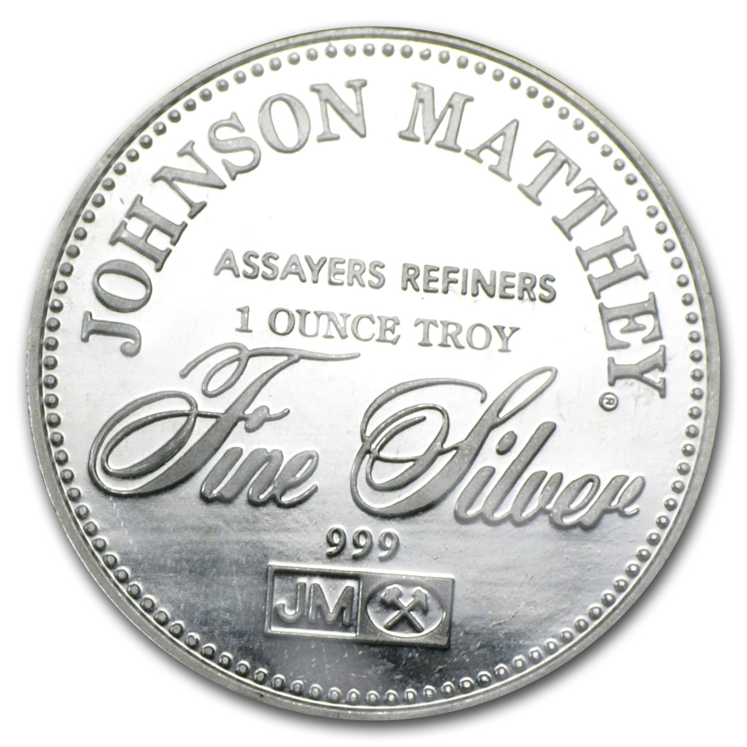1 oz Silver Round - Johnson Matthey Freedom Series (Set of 10)