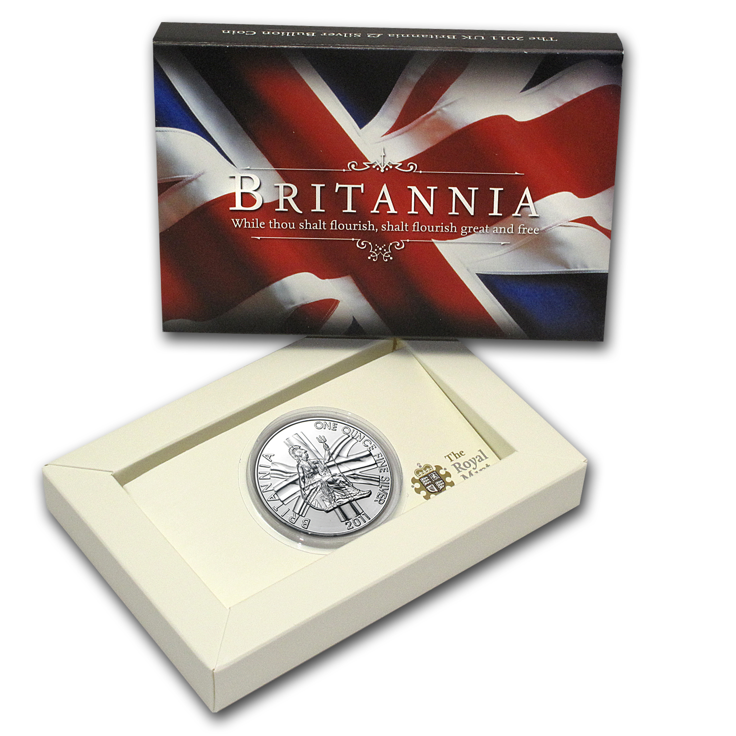 2011 1 oz Silver Britannia BU (Royal Mint Packaging)