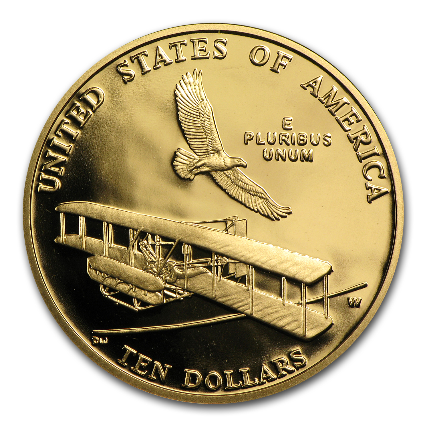 2003-W Gold $10 Commem First Flight Centennial Proof