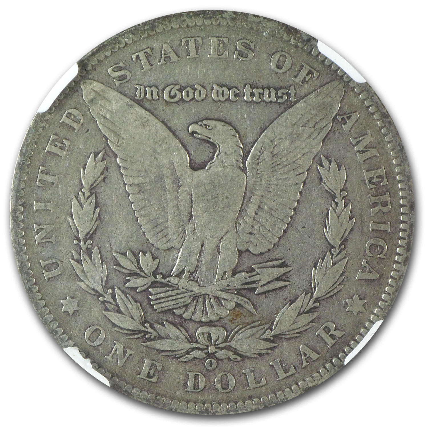 1889-O Morgan Dollar Fine-12 NGC (VAM-1A2, Clashed E, Top-100)