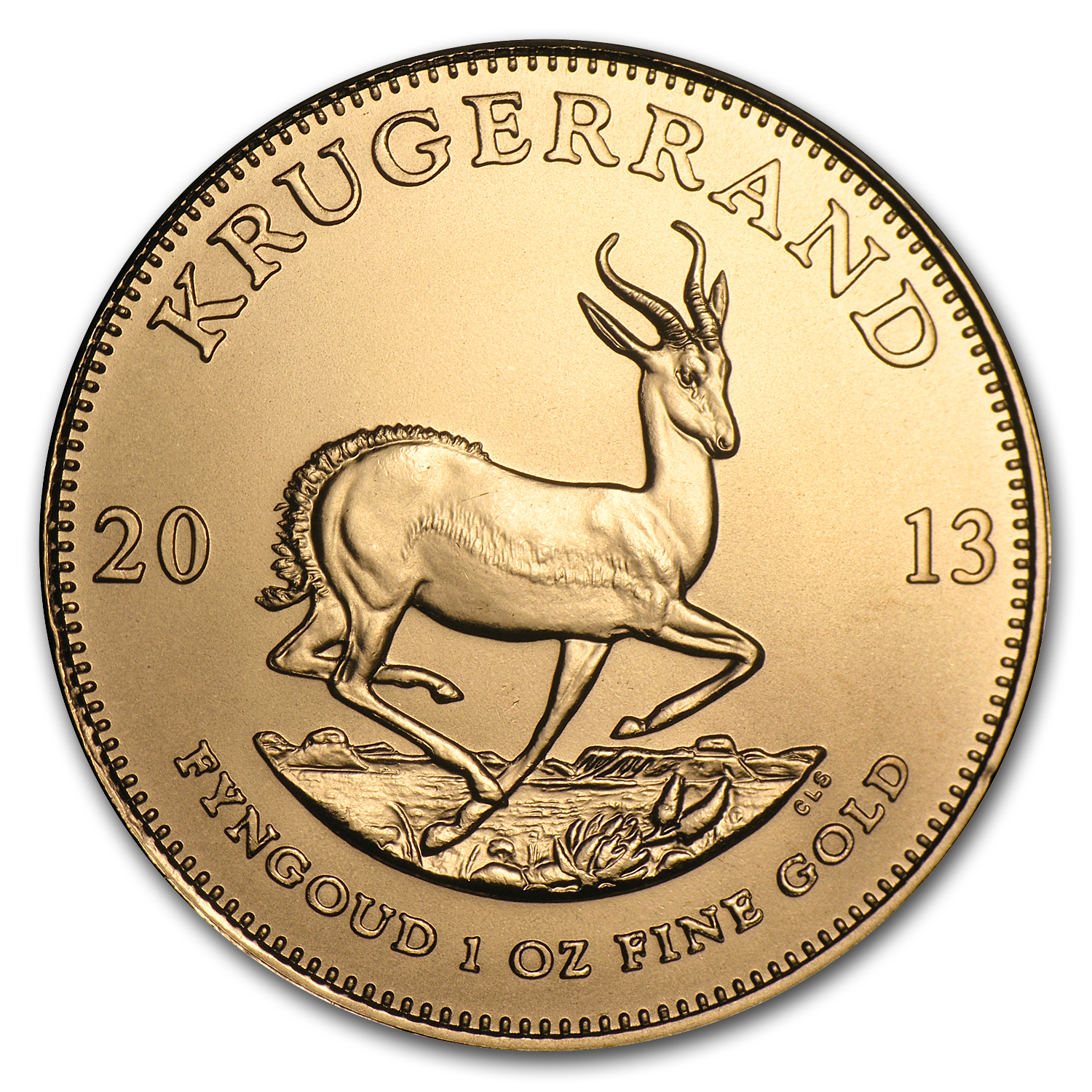 2013 South Africa 1 oz Gold Krugerrand