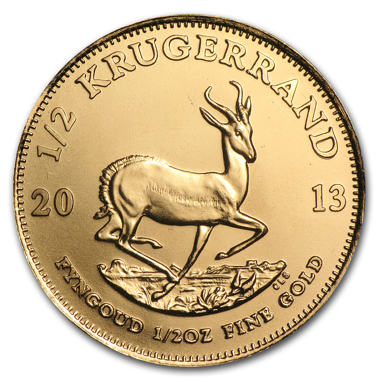 2013 South Africa 1/2 oz Gold Krugerrand