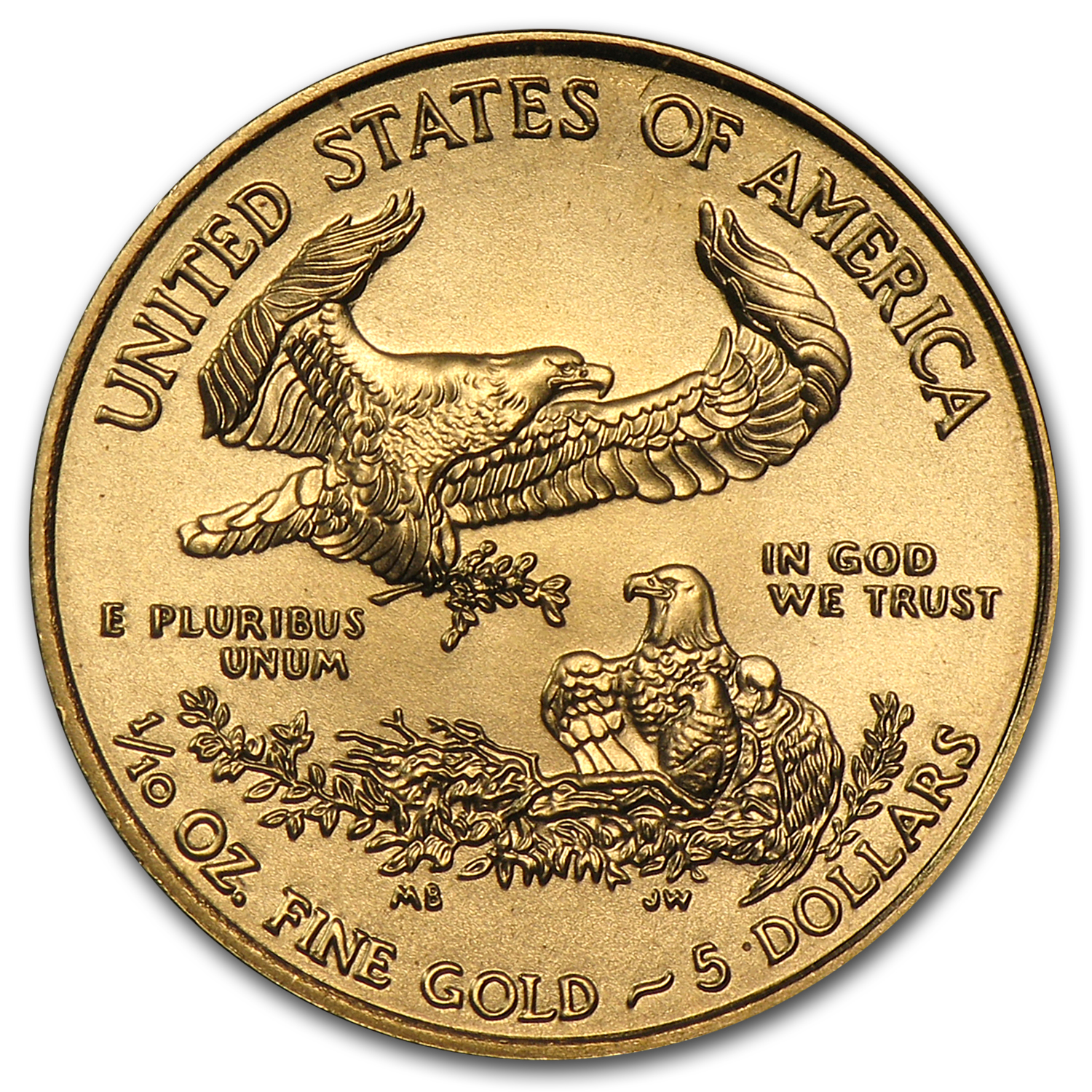 2013 1/10 oz Gold American Eagle (BU)