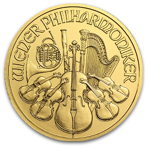 2013 1/2 oz Gold Austrian Philharmonic