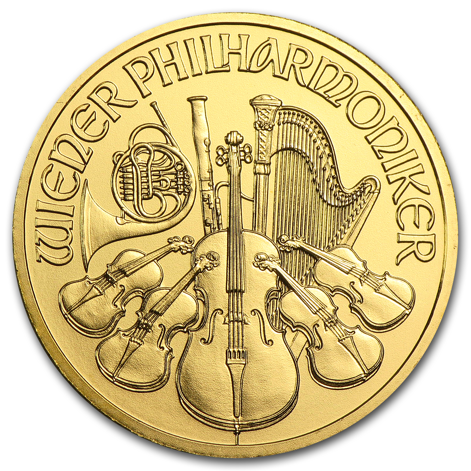 2013 1/4 oz Gold Austrian Philharmonic