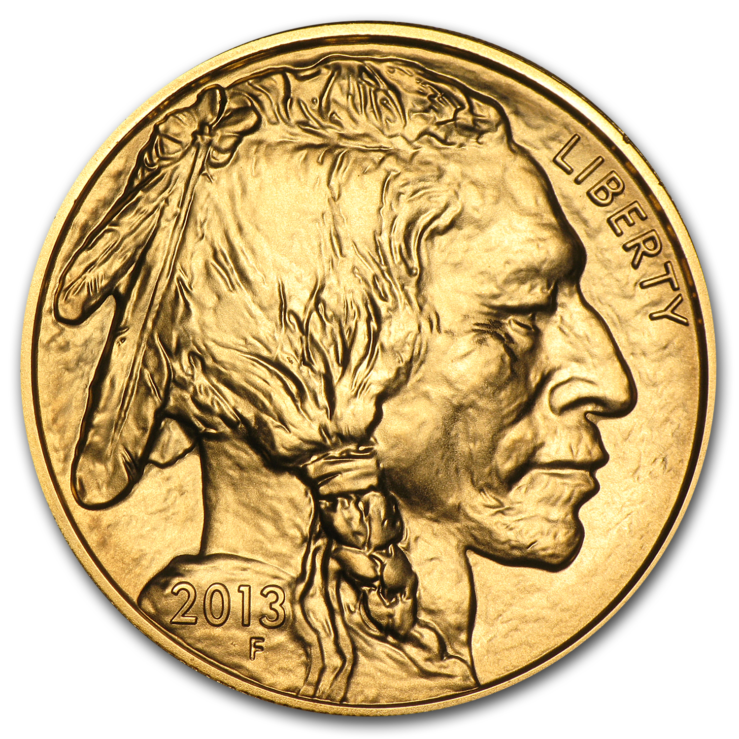 2013 1 oz Gold Buffalo BU