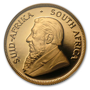 1999 South Africa 1/2 oz Gold Krugerrand PF-69 NGC