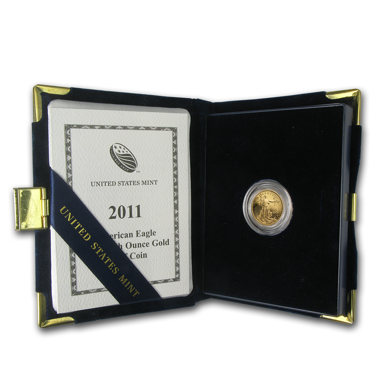 2011-W 1/10 oz Proof Gold American Eagle (w/Box & COA)