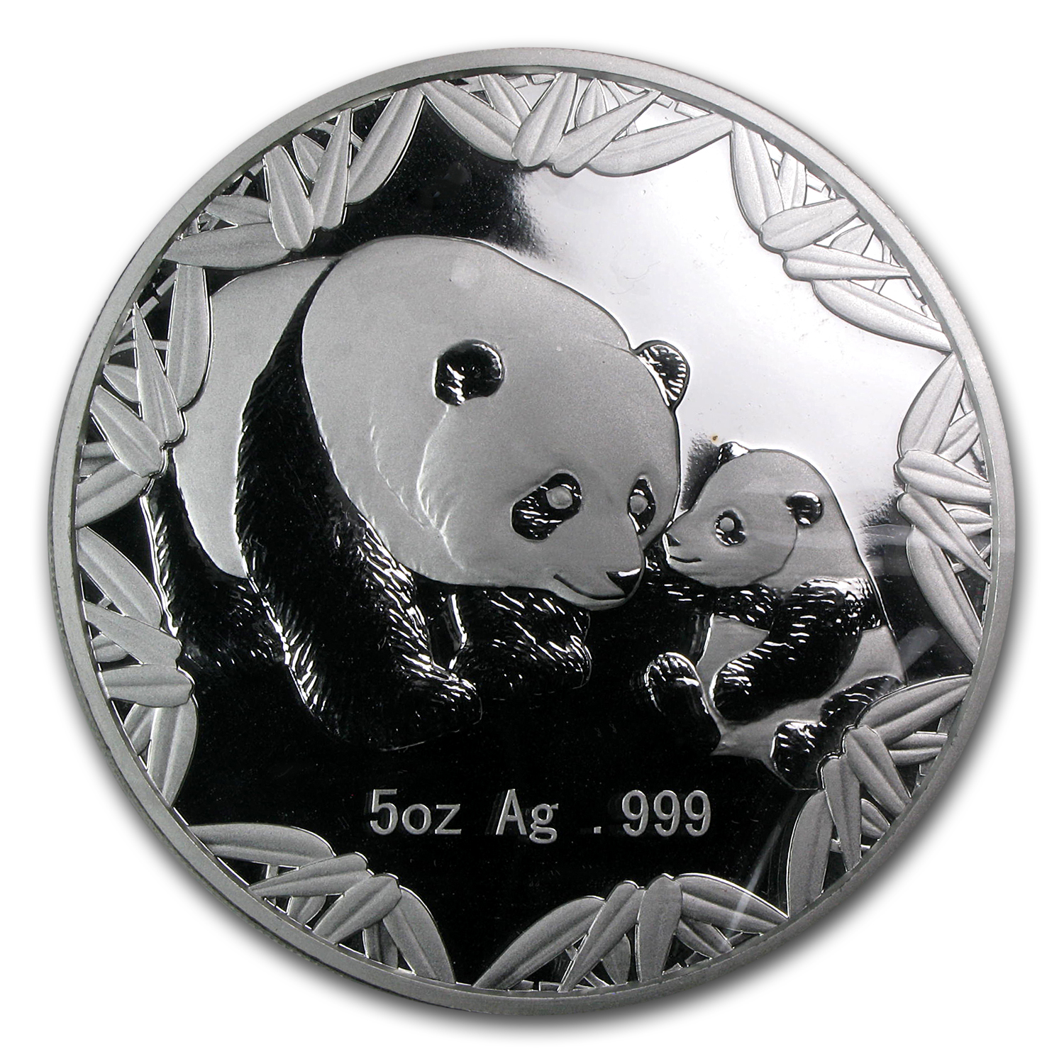 2012 5 oz Silver Chinese Panda Philadelphia ANA Coin Show Medal