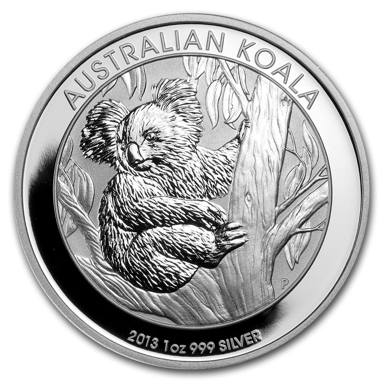 Australian Koala Silver Coin