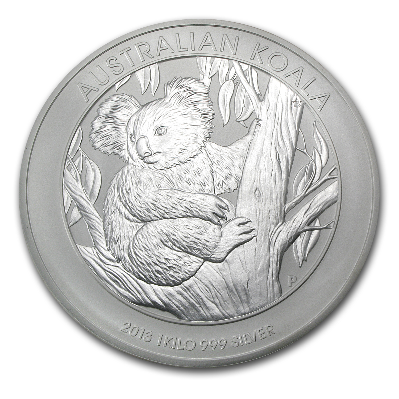 2013 Australia 1 Kilo Silver Koala Bu Perth Mint Koala