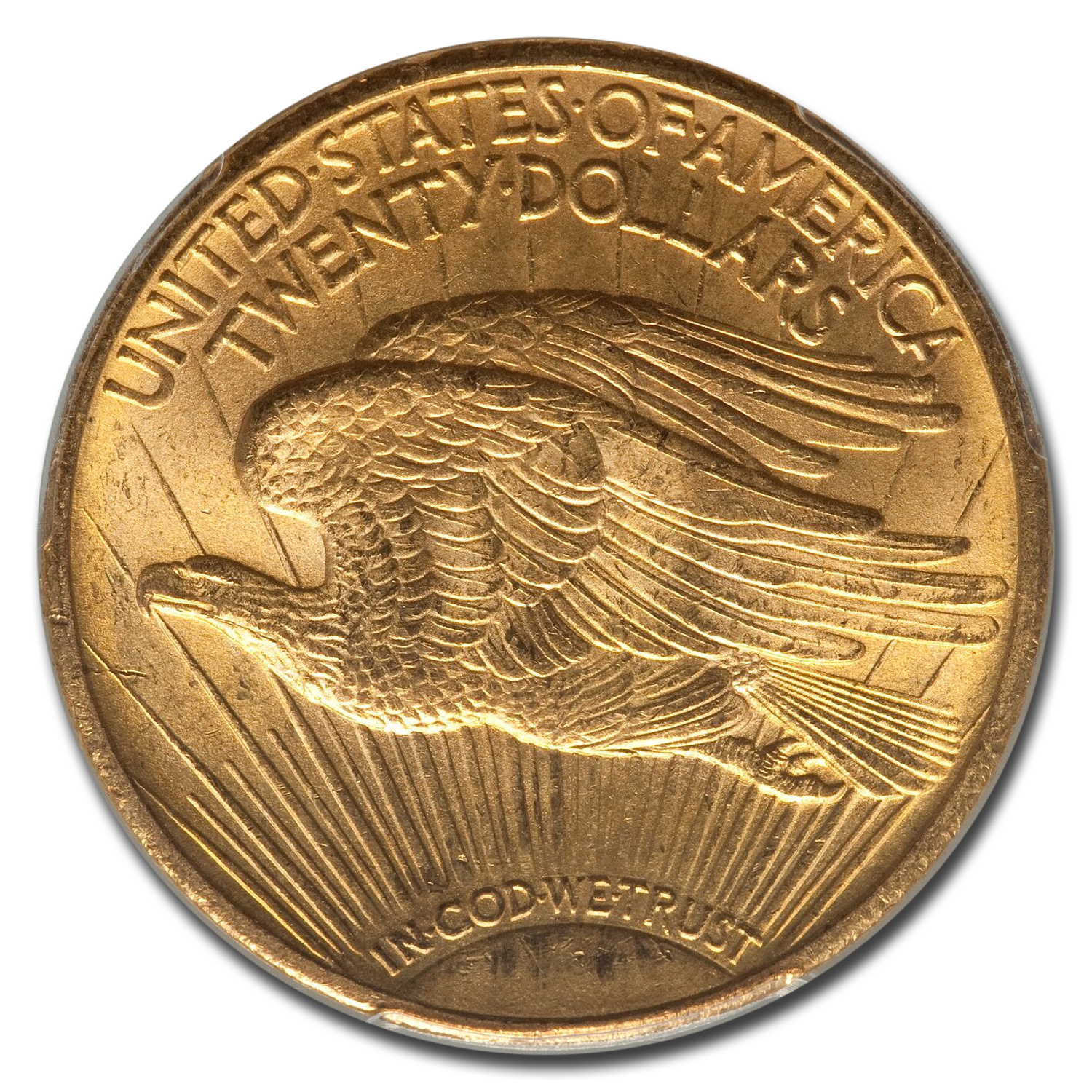1910 $20 Saint-Gaudens Gold Double Eagle MS-65 PCGS