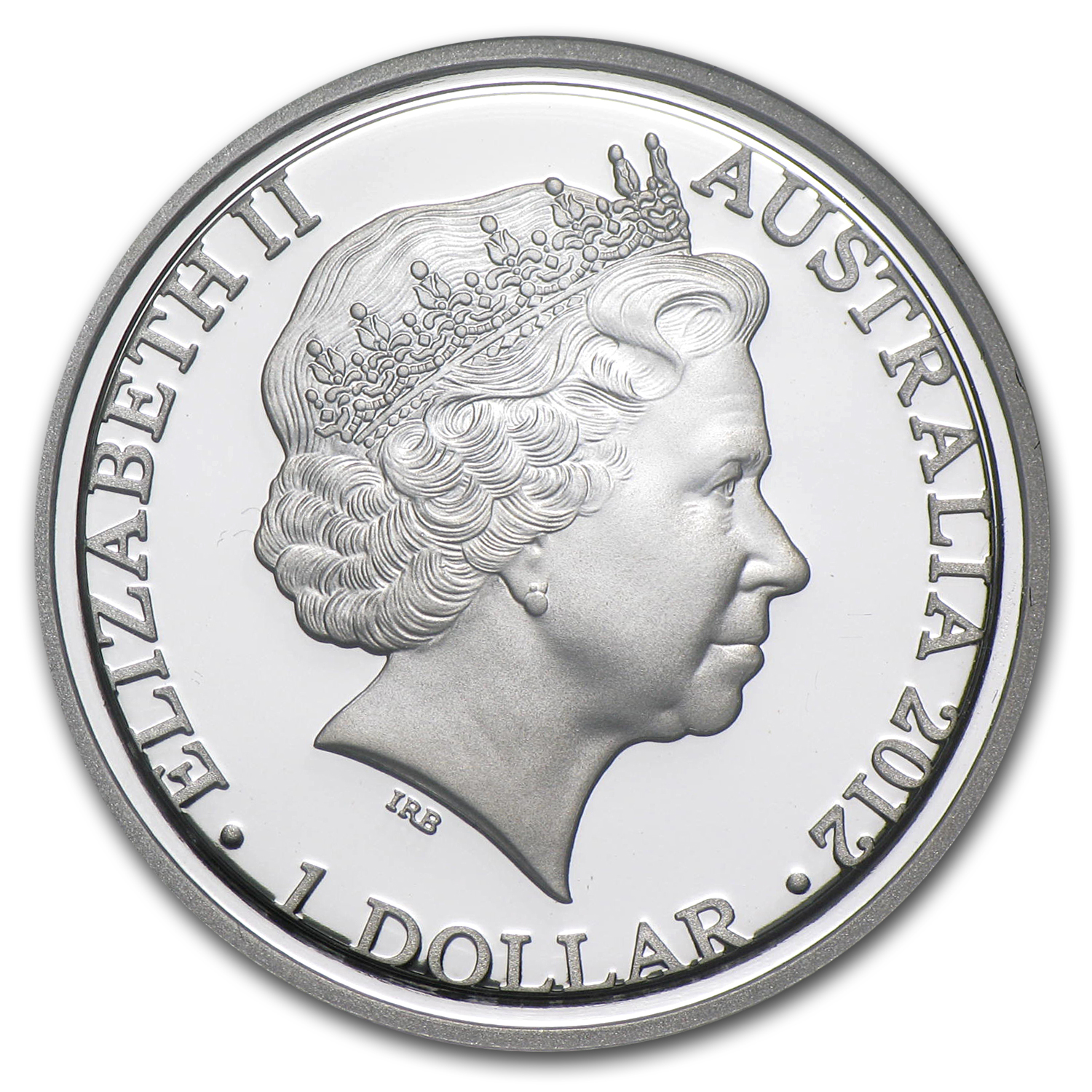 2012 Australia Silver $1 Kangaroo at Sunset