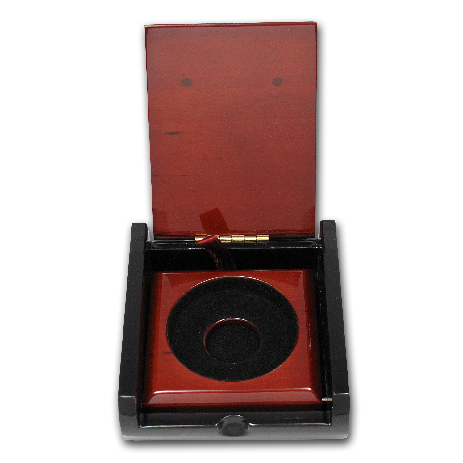 1 oz Silver Red Wood Presentation Box (Perth Mint)