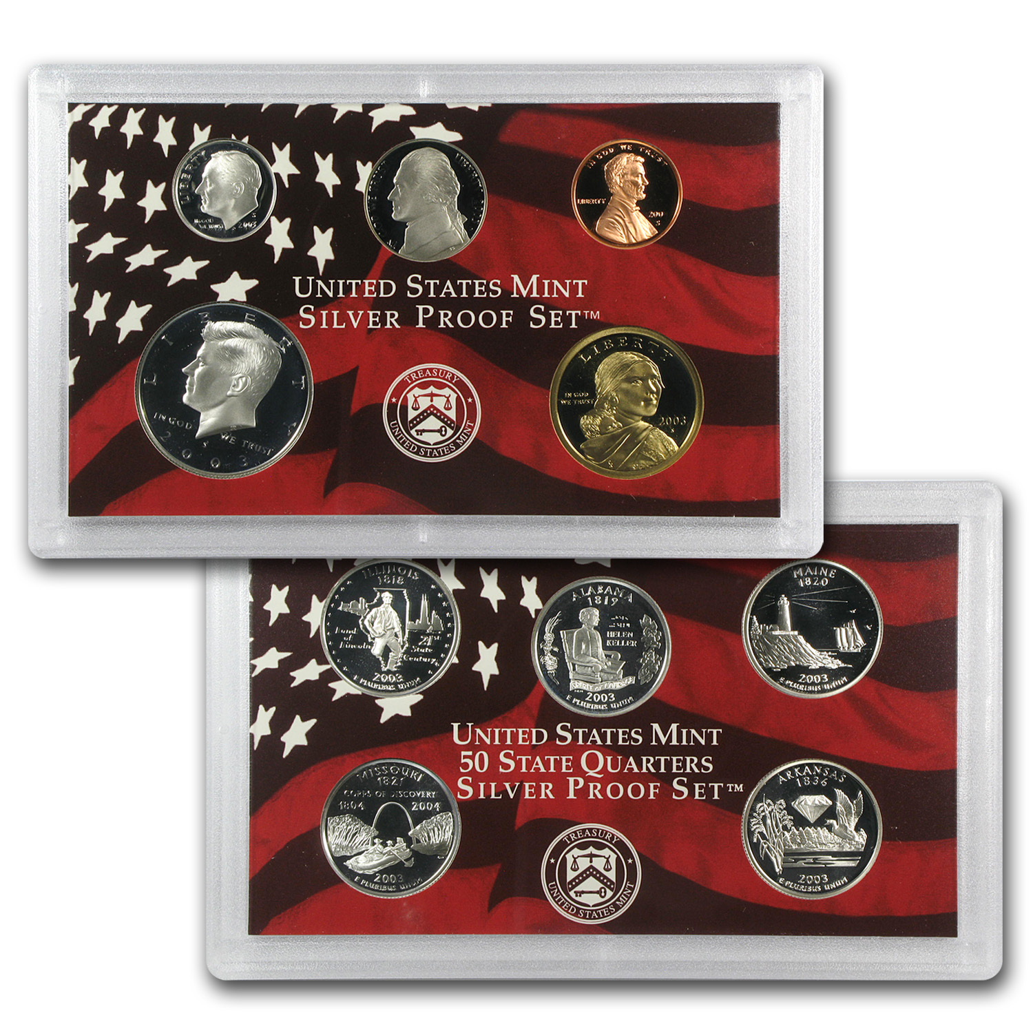 2003 U.S. (Silver) Proof Set