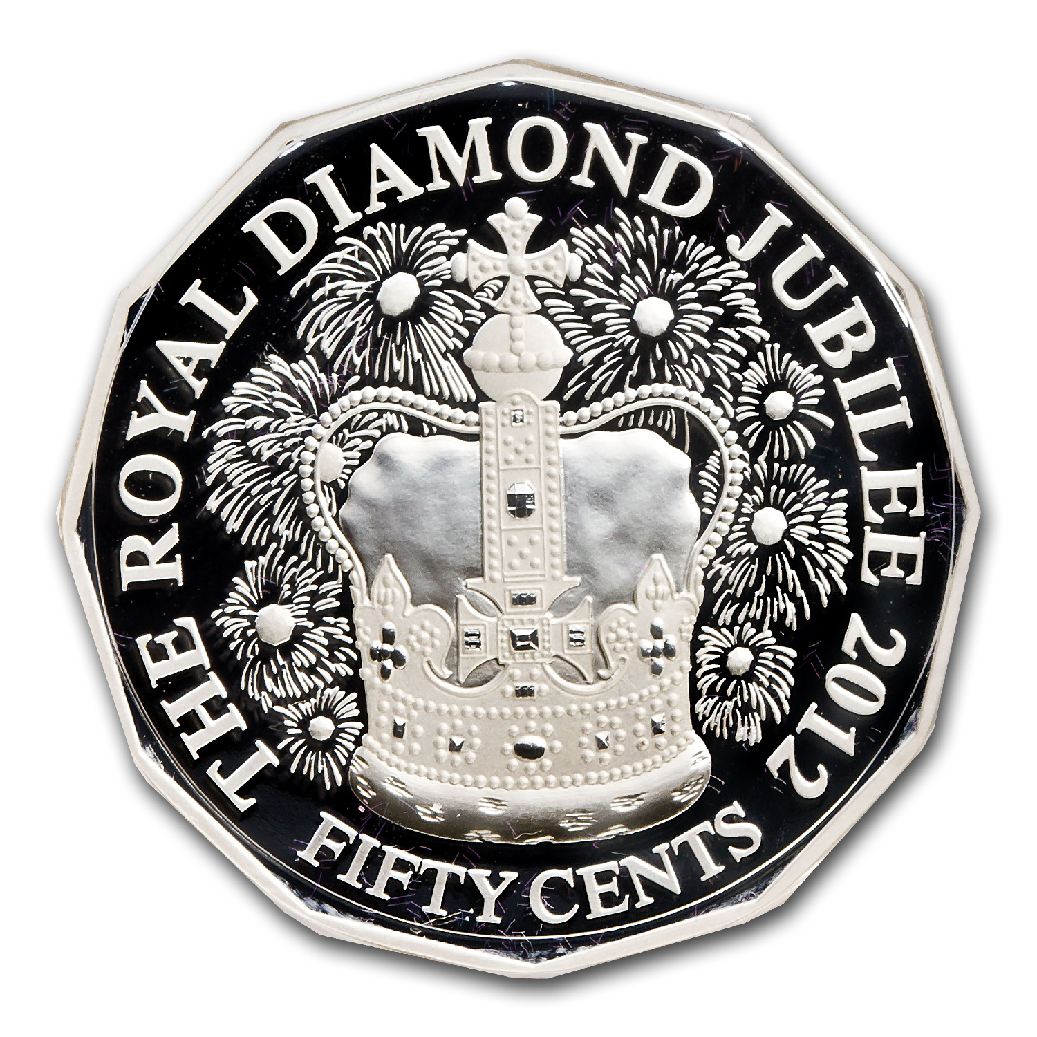 2012 Australia Silver Diamond Jubilee Proof