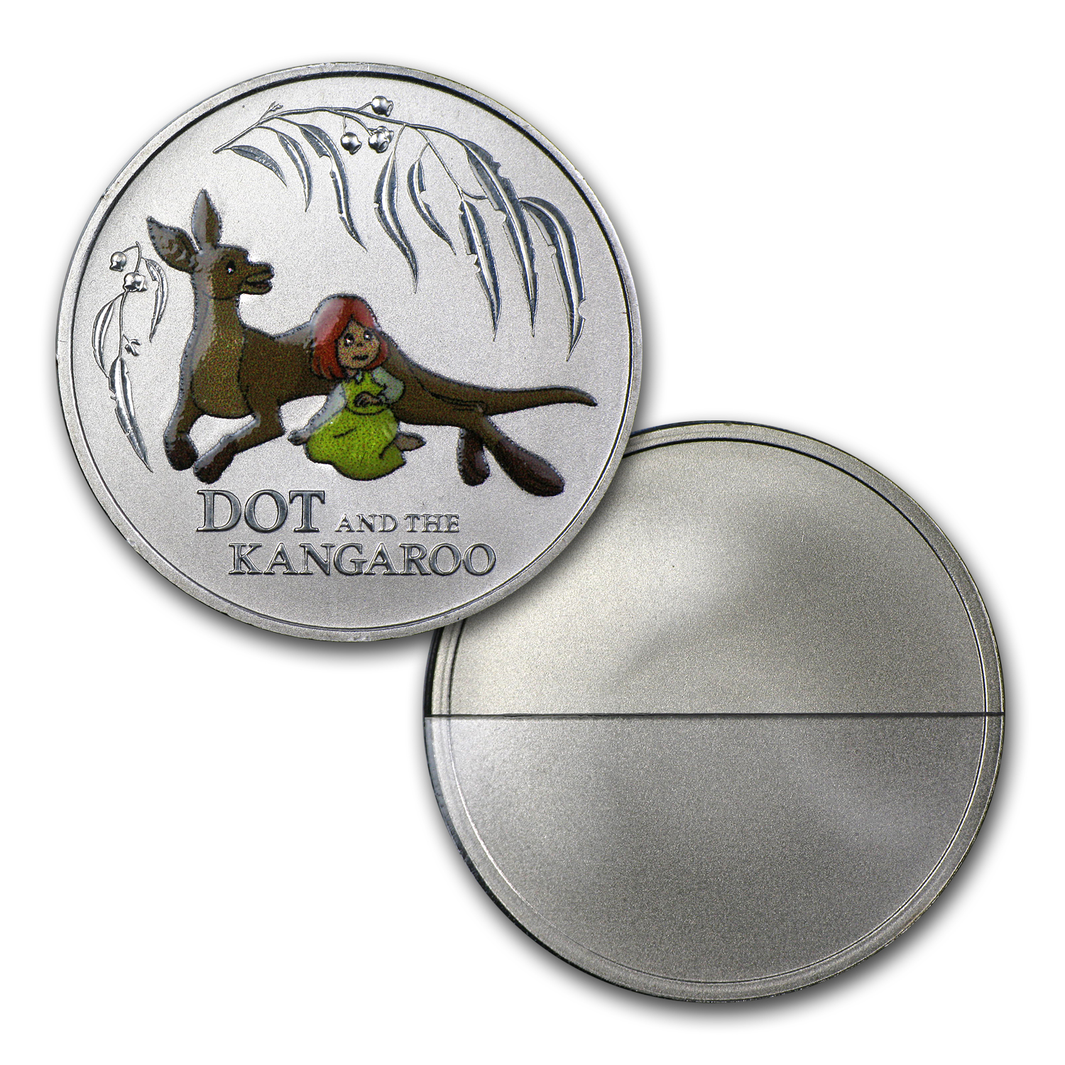 2012 Australia 6-Coin Dot & the Kangaroo Baby Set BU