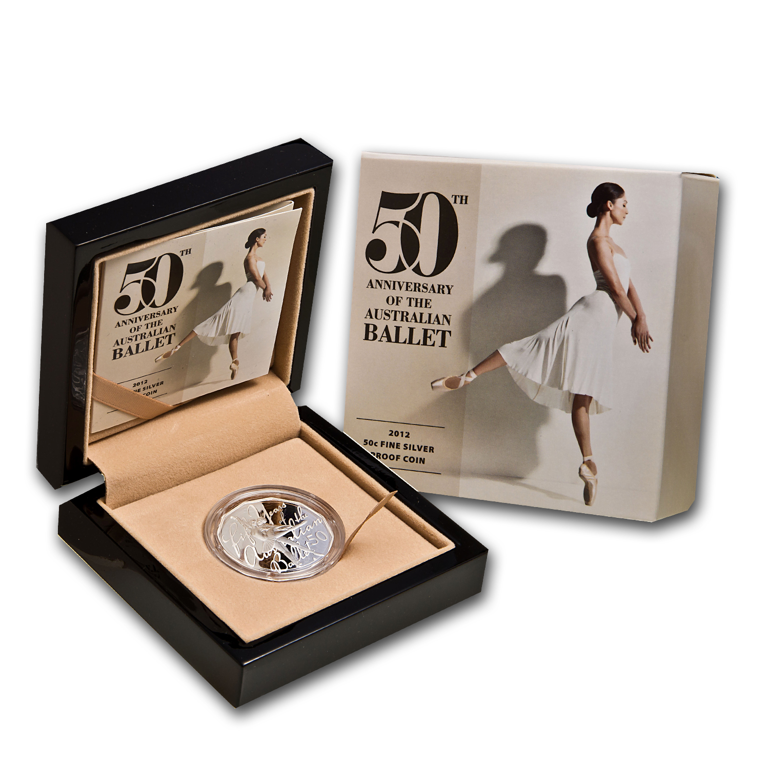Royal Australian Mint 2012 50th Anniversary Ballet Silver Proof