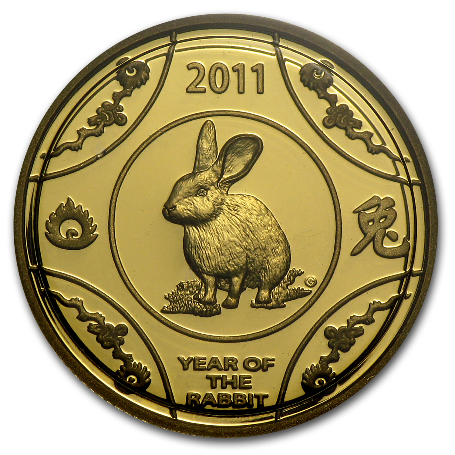 2011 Australia 1/10 oz Gold Year of the Rabbit