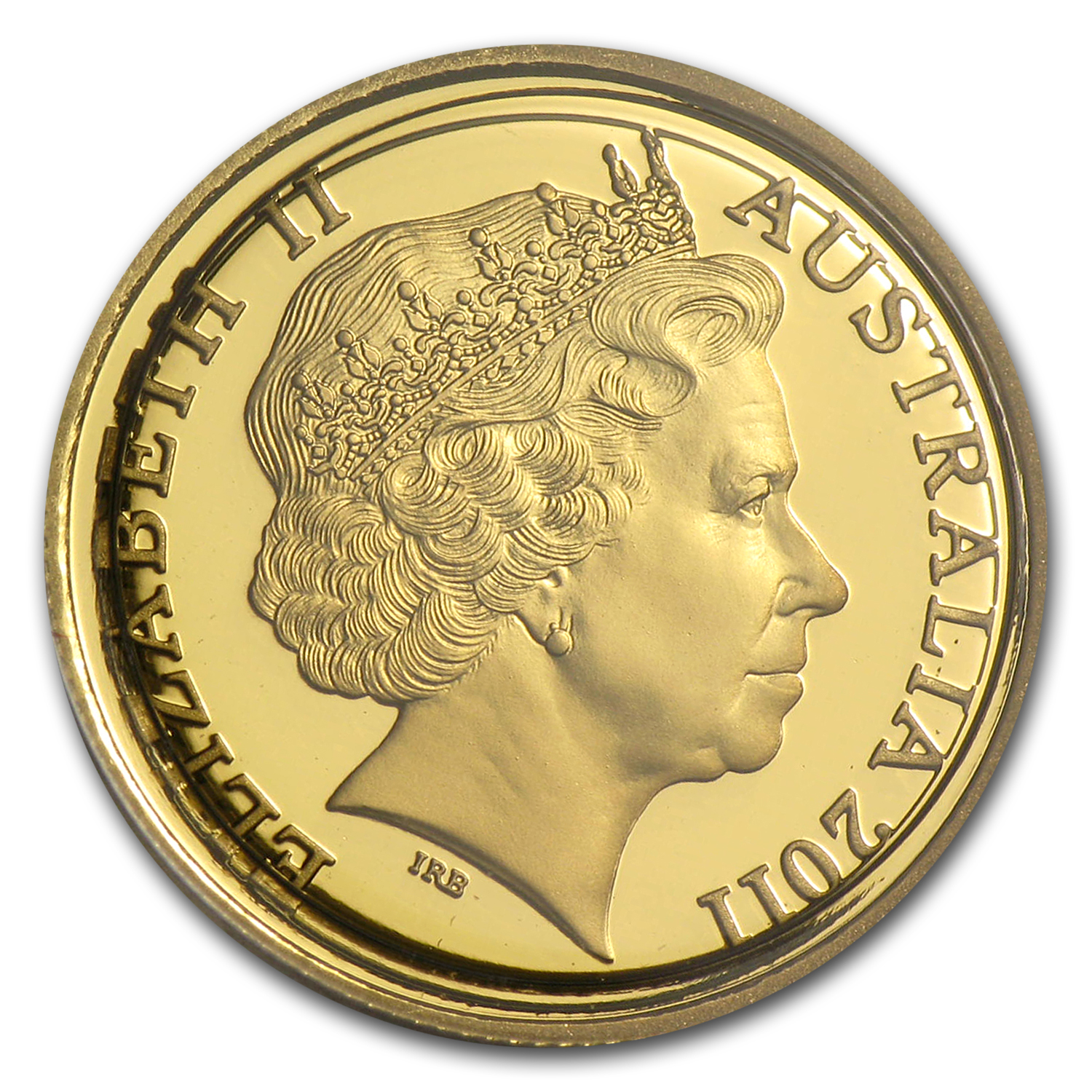 2011 Australia 1/10 oz Proof Gold Kangaroo