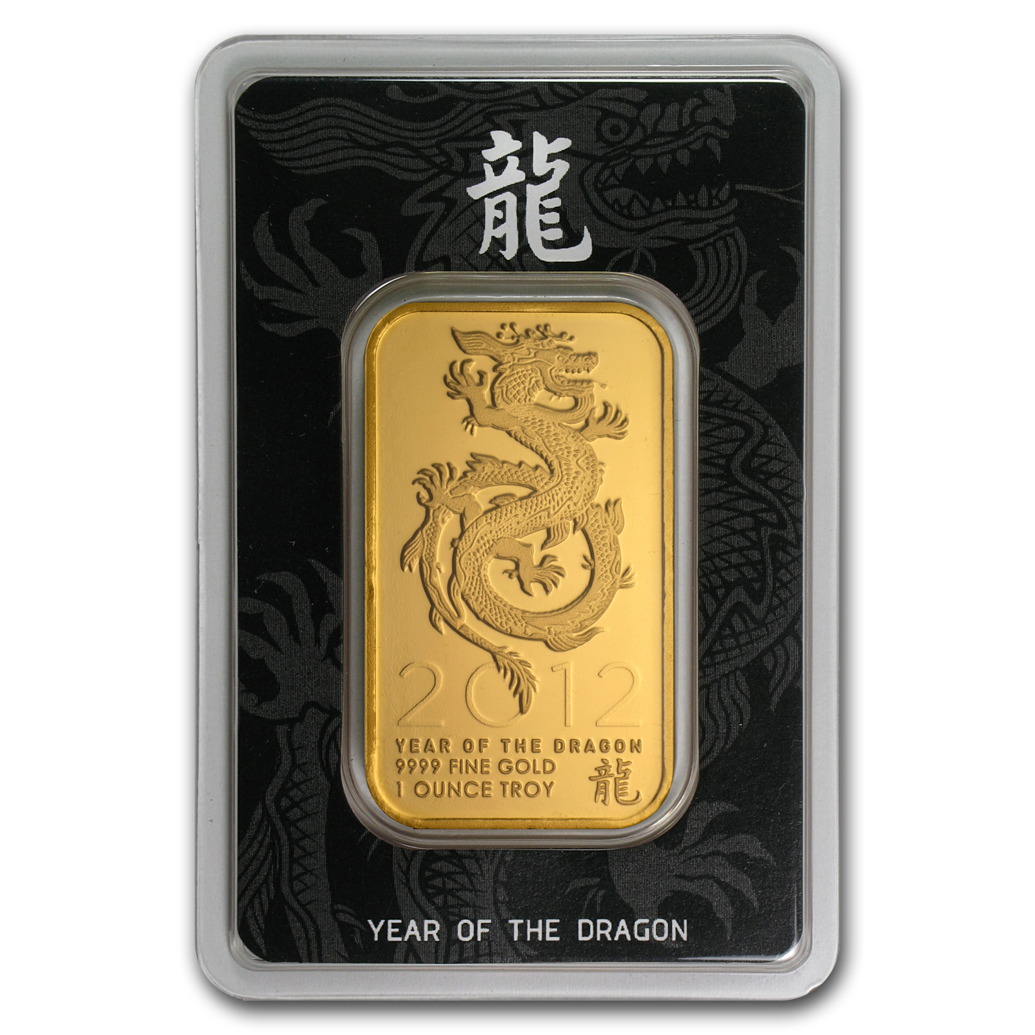 1 oz Gold Bar - Year of the Dragon (In Assay)