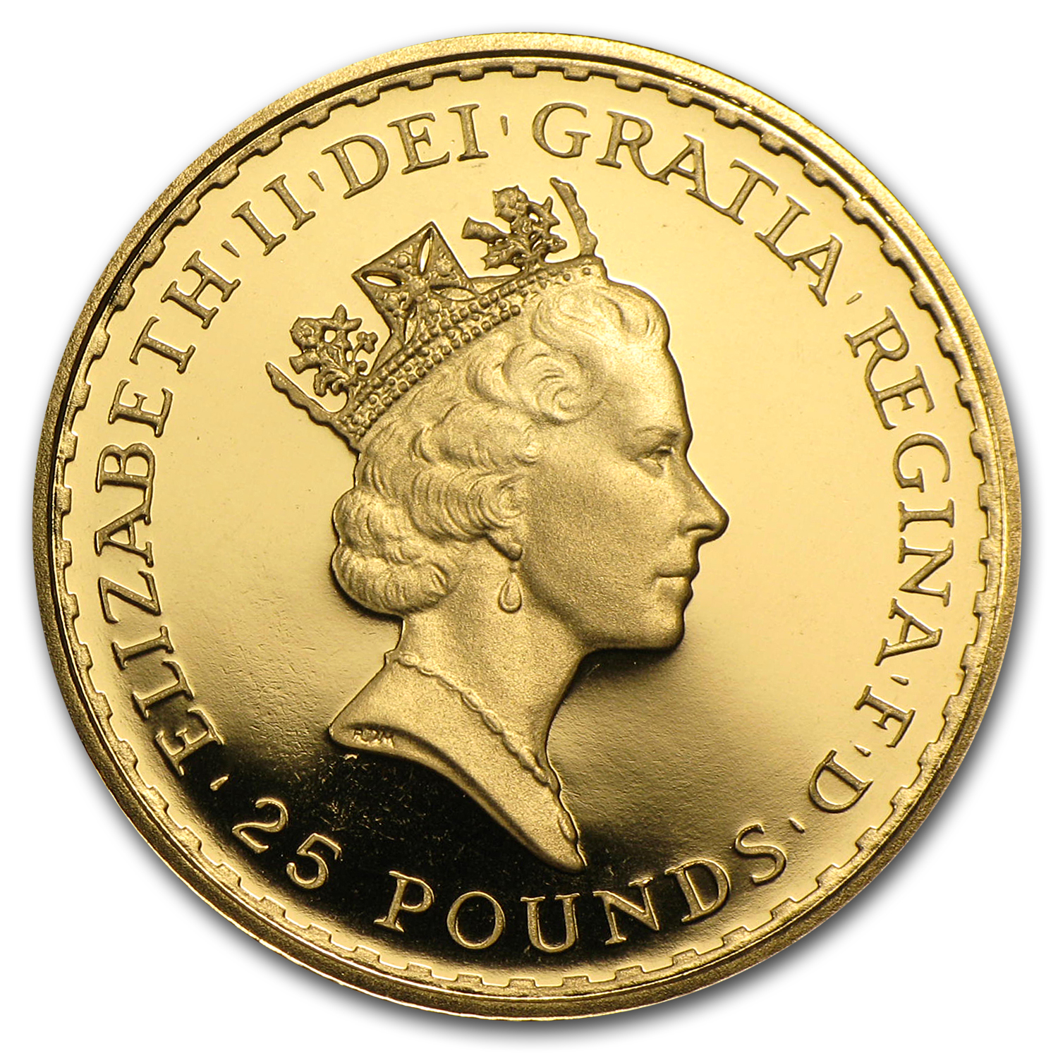 1990 1/4 oz Proof Gold Britannia