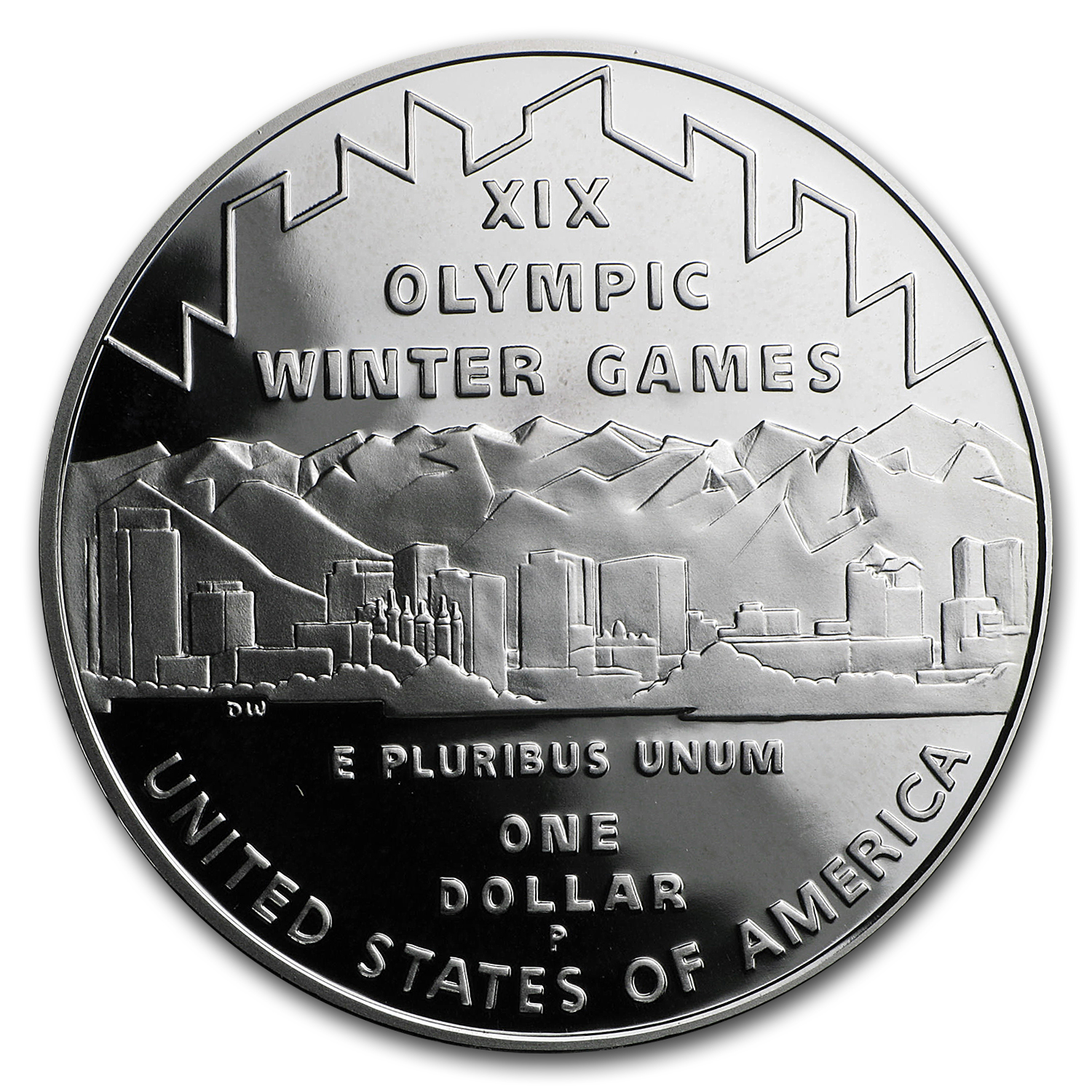 2002-P 2-Coin Commem Olympic Winter Games Proof Set (w/Box & COA)