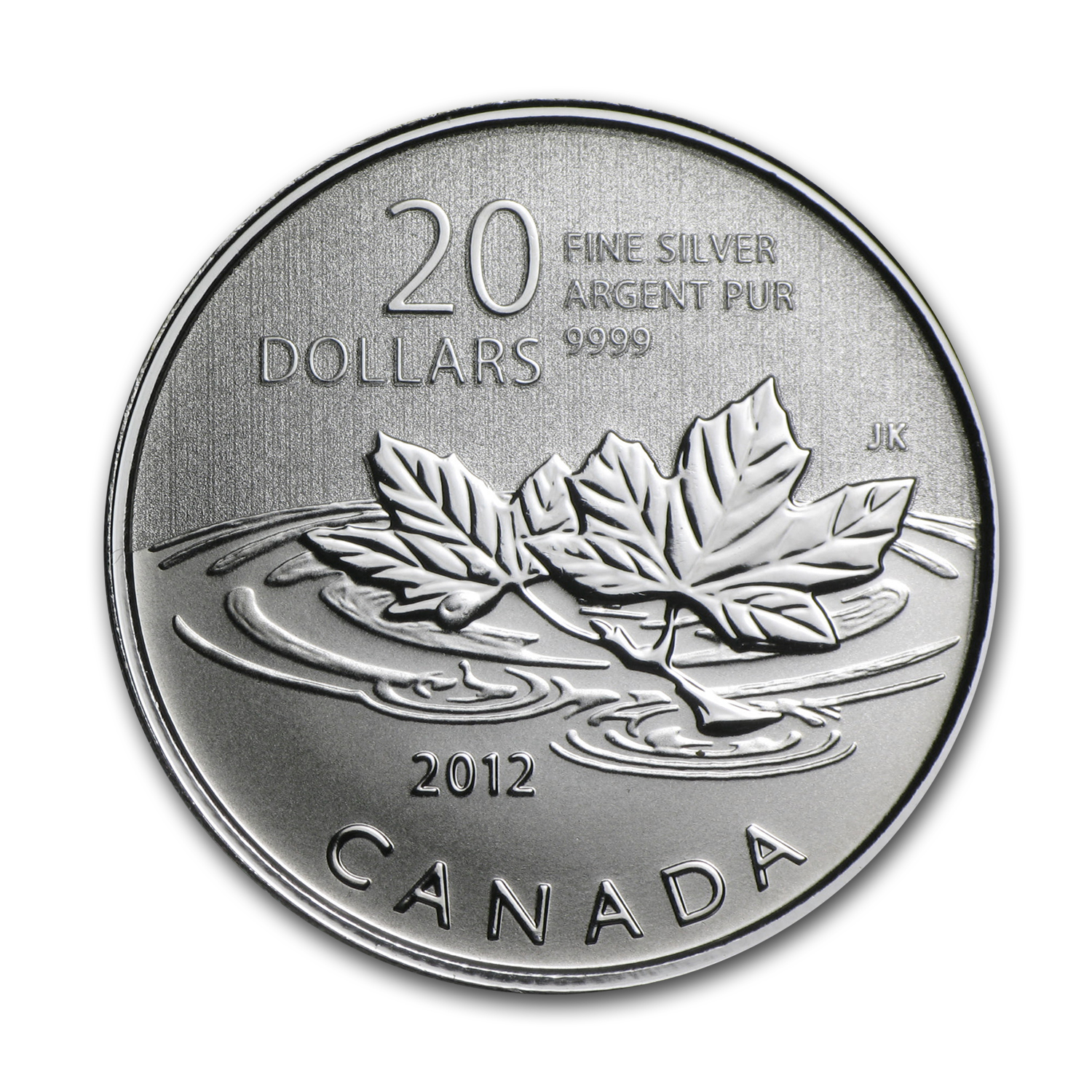2012 Canada 1/4 oz Silver $20 Farewell to Penny (w/COA Card)