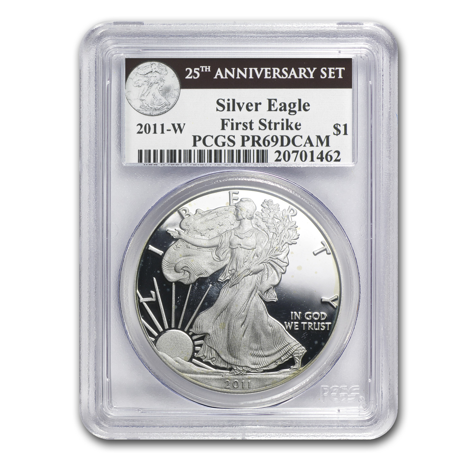 1 oz Proof Silver American Eagle PR-69 PCGS/NGC (Random Year)